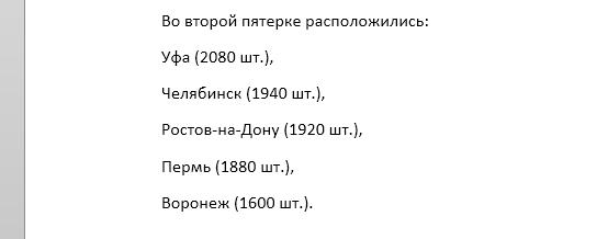 Эксперты составили ТОП-10 городов России по продажам новых авто