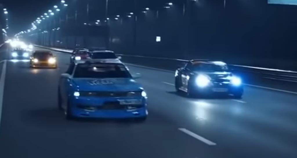 Эпичный дрифт заряженных японцев на дороге Воронежа сняли на видео
