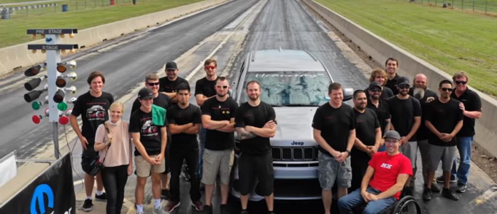 Jeep Grand Cherokee Trackhawk получил сверхмощную 1200-сильную версию