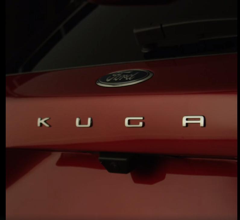 Новый кроссовер Ford Kuga показали на тизерном видео