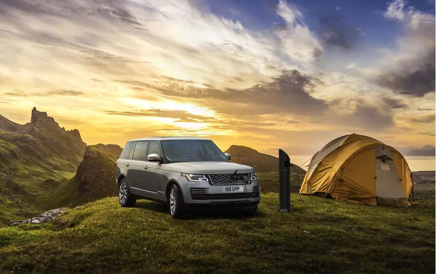 Land Rover показала труднодоступный терминал зарядки для Range Rover