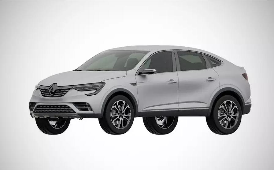 Renault в России запатентовала внешность серийного кросс-купе Arkana