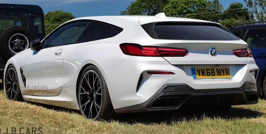 Красивый BMW 8-Series Shooting Brake представили на рендере