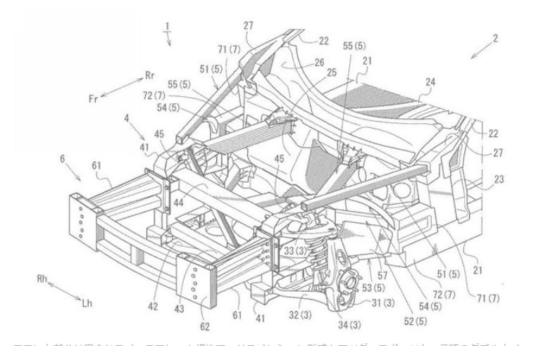 Патент намекнул на возможную разработку Mazda RX-9