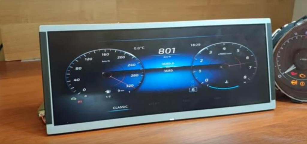 Названа стоимость готовой цифровой «приборки» для Lada Vesta