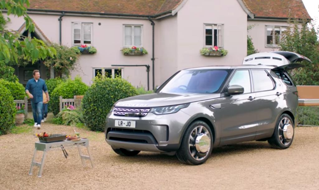 Land Rover создали кулинарную версию Discovery для Джейми Оливера