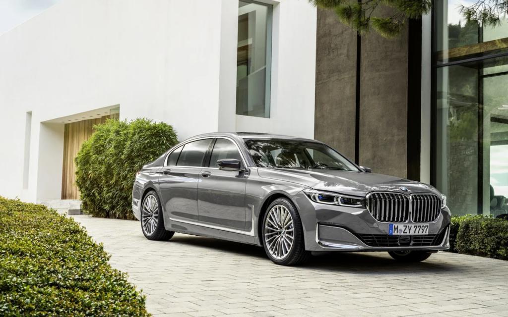 Седан BMW 7-Series станет электромобилем