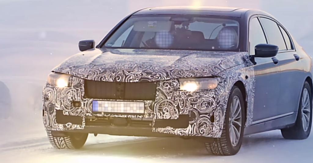 Стали известны новые подробности об обновленном BMW 7 Series