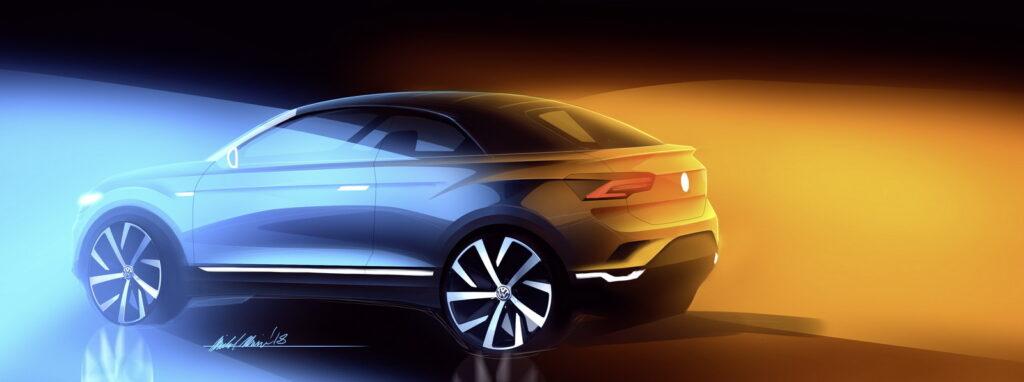 Volkswagen сделает новый кабриолет на базе кроссовера Volkswagen T-Roc