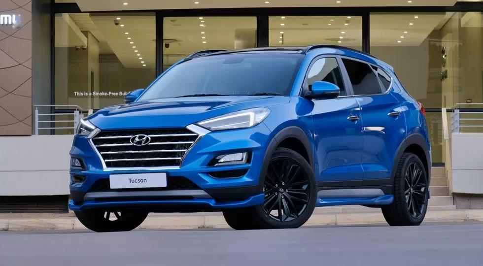 Hyundai представила Tucson Sport с форсированными двигателями