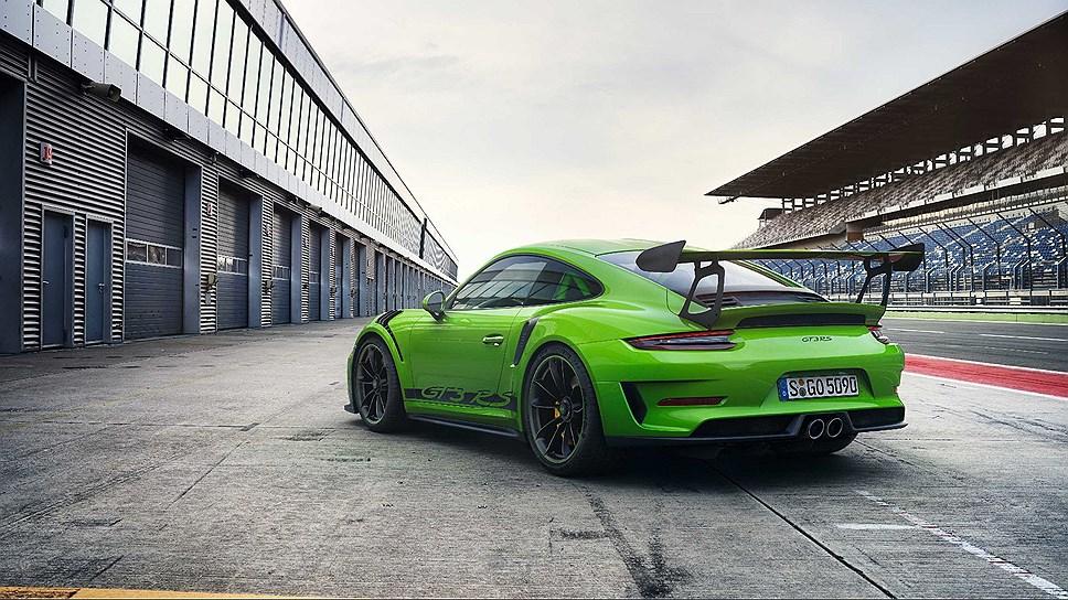 Обновлённый спорткар 911 GT3 RS представил Porsche