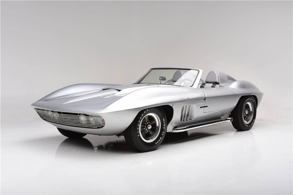 Редчайший Chevrolet Corvette Centurion 1958 года выставили на аукцион