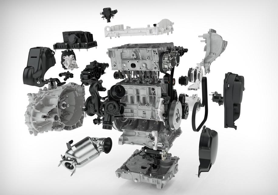 Представила первый трехцилиндровый двигатель компания Volvo