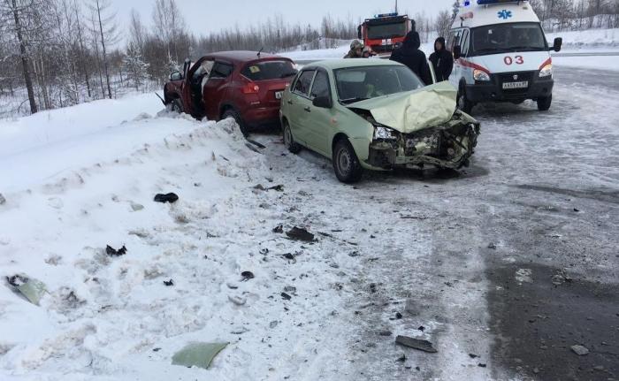 Автоледи устроила ДТП в Ноябрьске, пострадал младенец