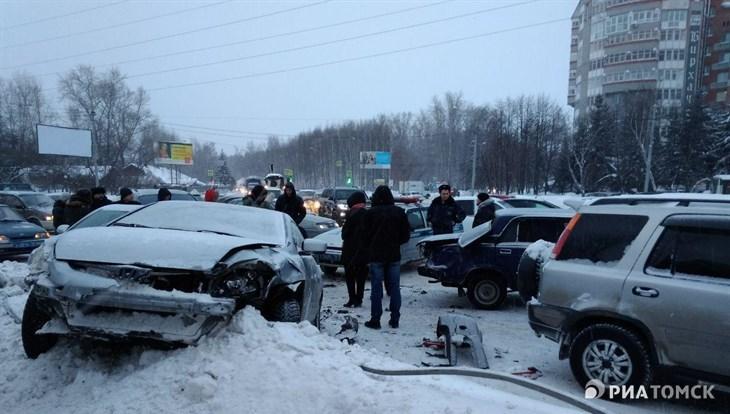 Три ДТП в Томске: пострадали трое взрослых и один ребенок