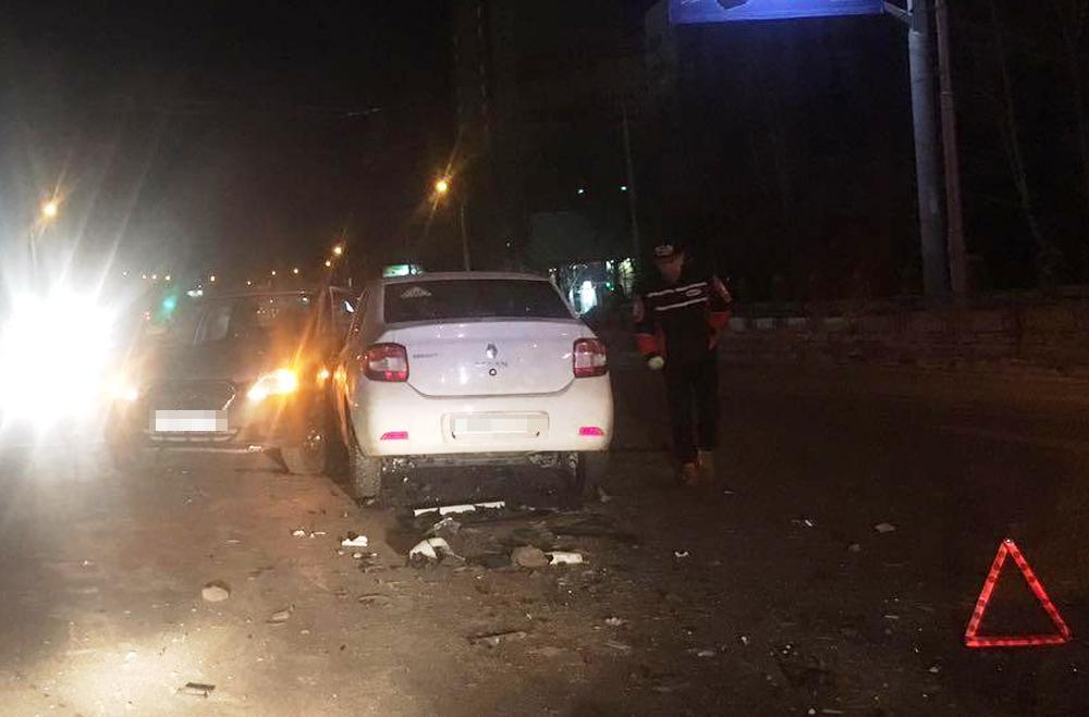 Пассажир пострадал в жестком ДТП Datsun и Renault в Уфе