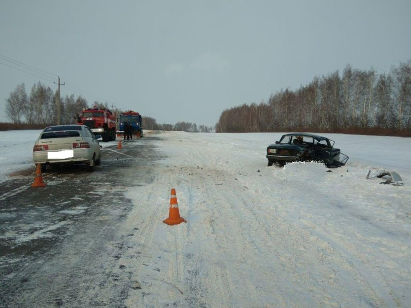 Автоледи устроила ДТП на встречке в Мичуринском районе, погиб мужчина