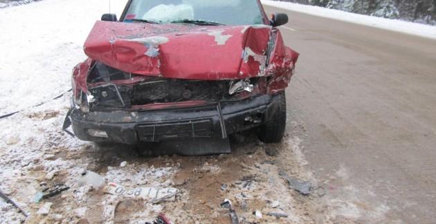26-летняя девушка пострадала в ДТП с грузовиком под Курском