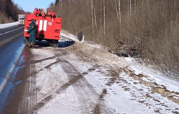 Трагическое ДТП в Тайшетском районе - погиб пассажир лесовоза