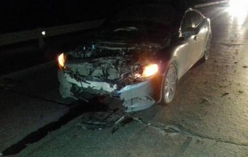 В Нефтеюганском районе иномарка насмерть сбила мужчину