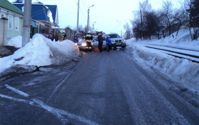 В Курске автоледи-именинница попала в ДТП и пострадала