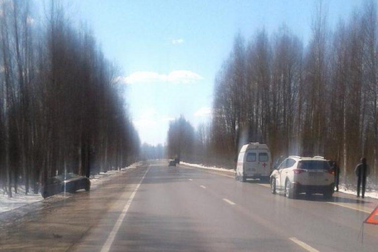 Женщина пострадала в жестком ДТП на трассе в Тверской области