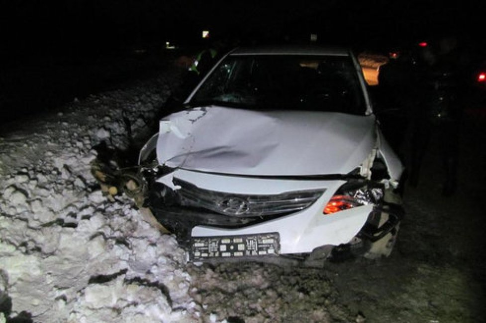 Автомобиль протаранил гужевую повозку в Башкирии, погиб извозчик