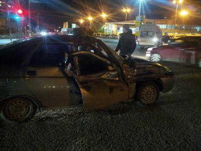 Пассажиры маршрутки пострадали в жестком ДТП в Рязани