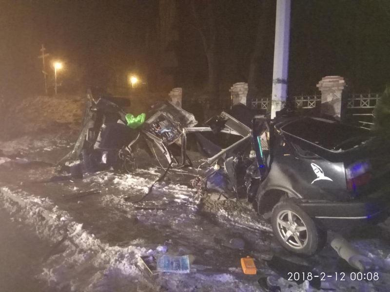 24-летний водитель без прав погиб в страшном ДТП под Калининградом