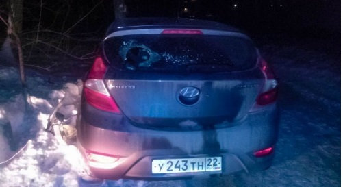 Сразу два ДТП подряд совершил пьяный водитель в Барнауле