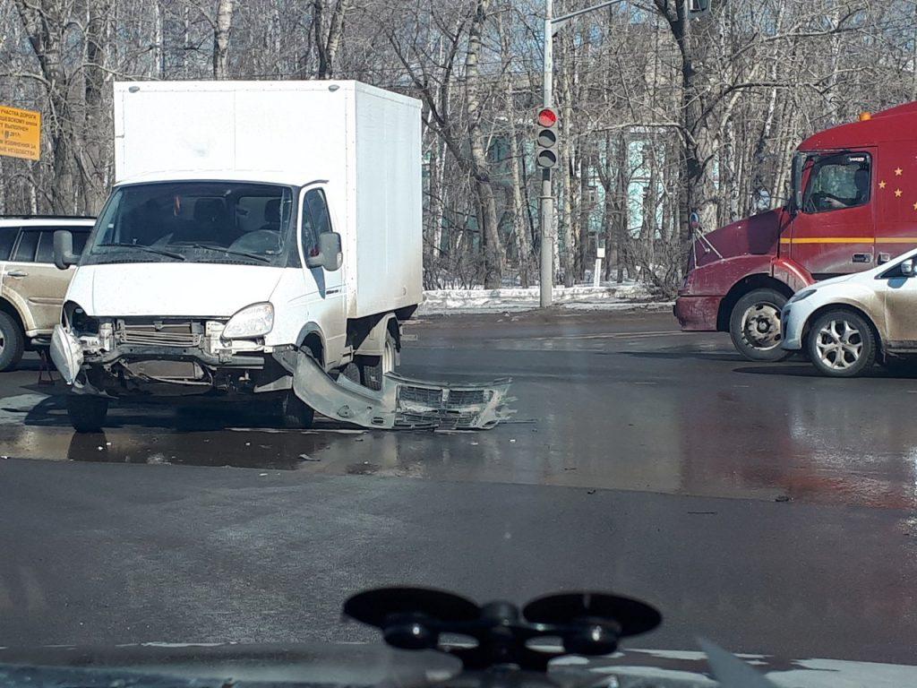 Массовое ДТП случилось в Рязани на Куйбышевском шоссе