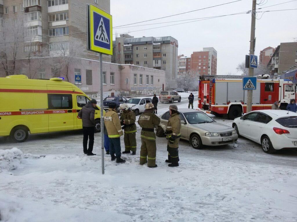 Смертельное ДТП в Омске на улице Стальского, погиб пассажир иномарки
