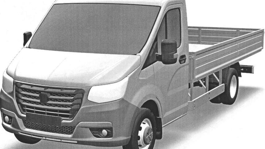 Дизайн новой грузовой ГАЗели запатентовал ГАЗ