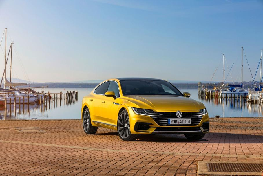 Volkswagen в России начал продажи лифтбека Arteon