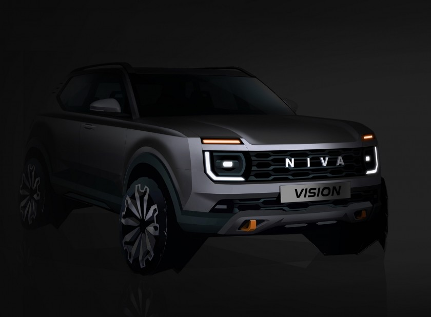 «АвтоВАЗ» показал первое изображение совершенно новой «Niva»