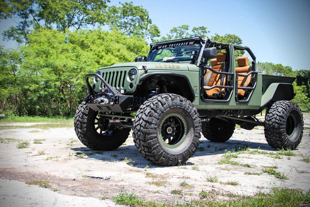 Мотор от спорткара дал тюнер новейшему Jeep Wrangler