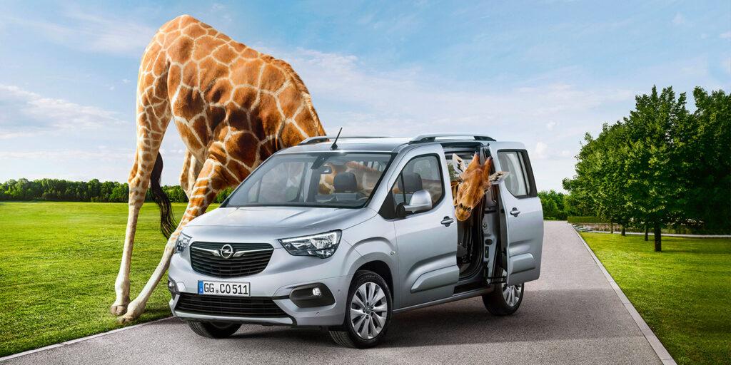 Фургон Combo нового поколения представила компания Opel