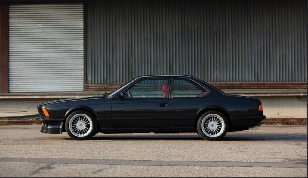 Уникальную BMW Alpina B7 Turbo Coupe продадут за астрономическую сумму
