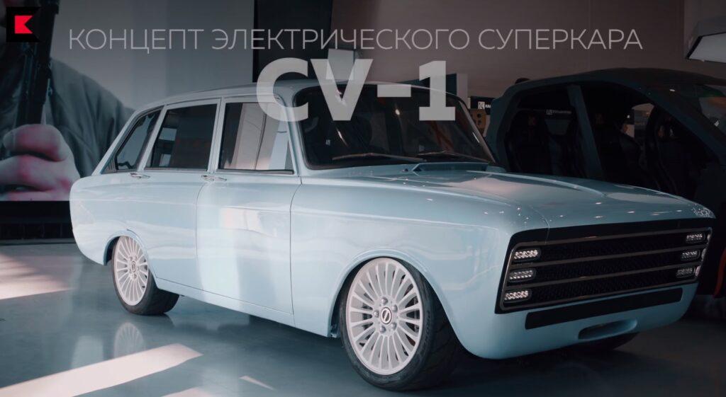 «Калашников» представил будущего «конкурента Tesla» на базе «Иж-Комби»