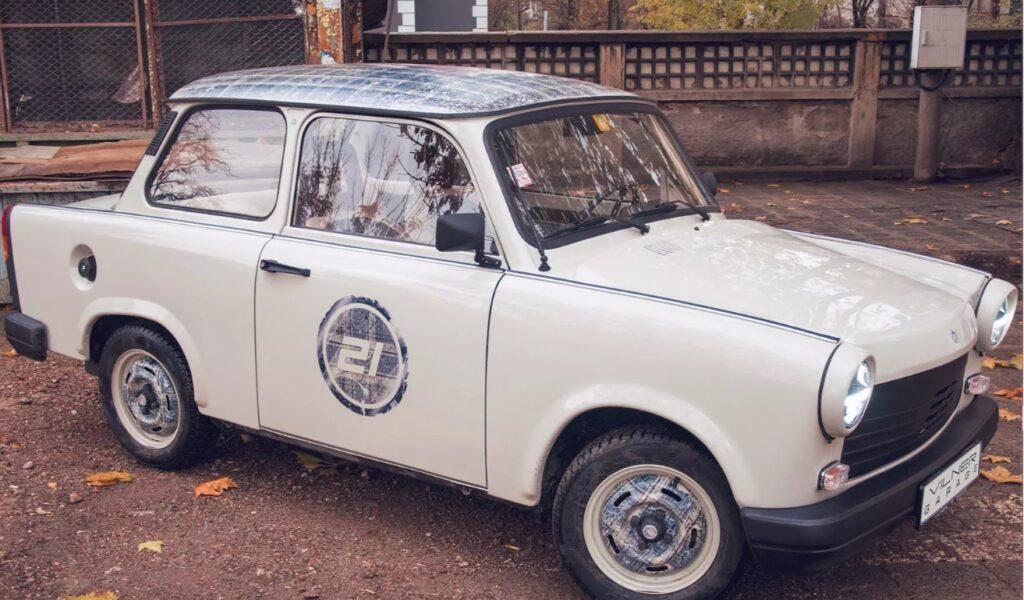 Болгарское ателье Vilner сделало рестомод легендарного Trabant