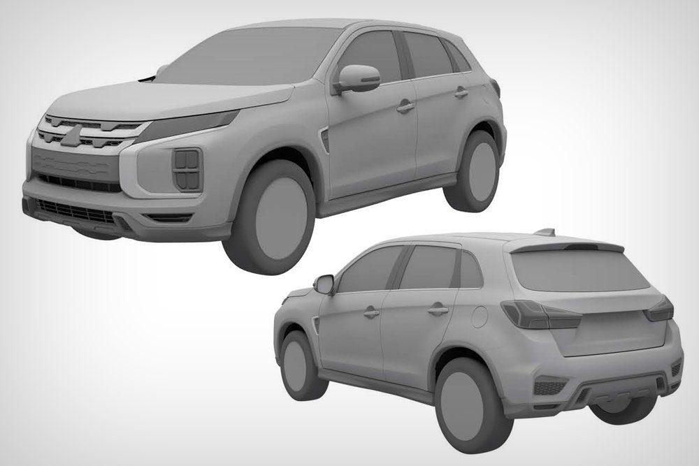 Mitsubishi показал новые Mitsubishi Pajero Sport и ASX для России