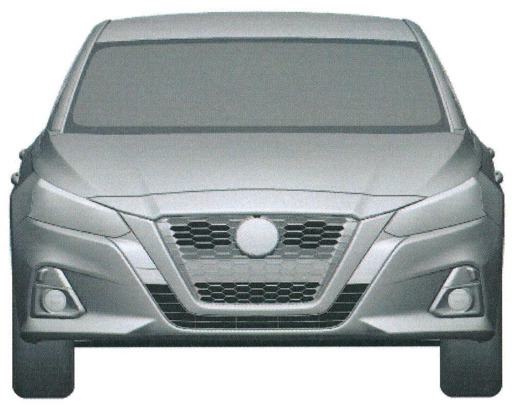 Nissan запатентовал в России новый седан Nissan Teana