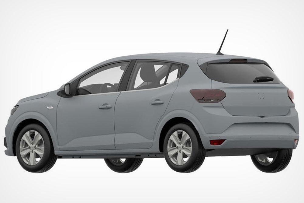 Renault запатентовала в РФ дизайн хэтчбека Sandero новой генерации
