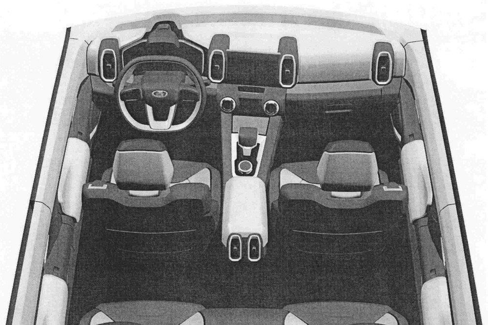 АвтоВАЗ запатентовал салон преемника модели Lada 4x4