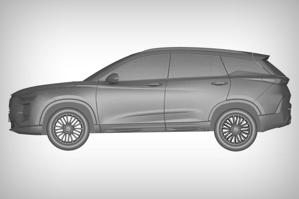Китайский двойник Hyundai Santa Fe найден в базе Роспатента