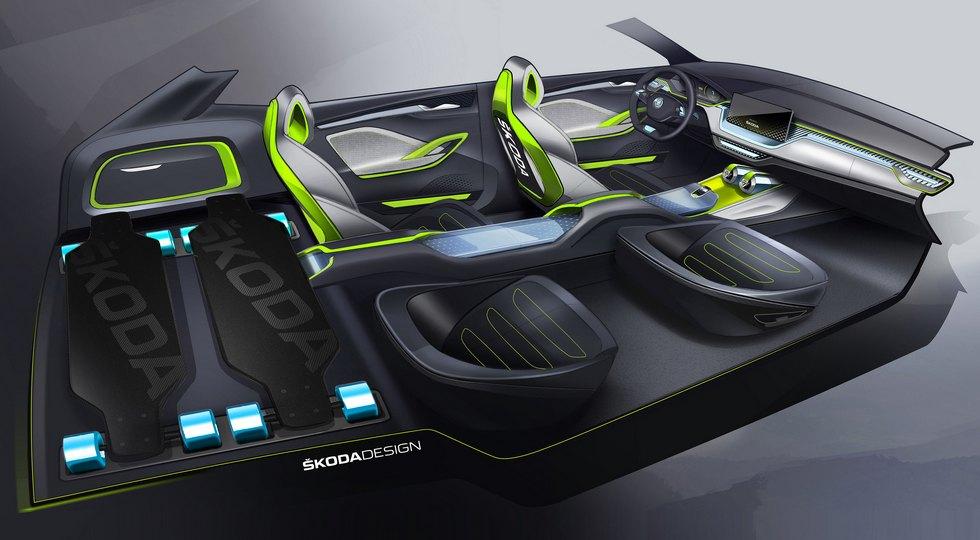 Новый компактный кроссовер Skoda Vision X представлен официально