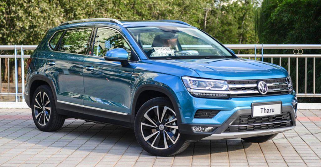 Volkswagen Tharu вырвался в бестселлеры бренда в Китае