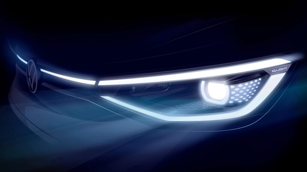 Volkswagen представил дизайн электрического кроссовера ID.4