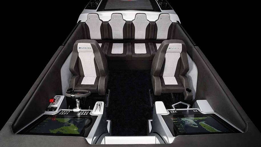 3100-сильный катер в духе Project One представил Mercedes-AMG
