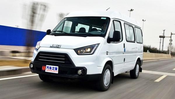 Фургон JMC Teshun для Китая получил обновление